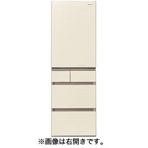 パナソニック 5ドア冷蔵庫(450L・左開き) NR-E454PXL-N シャンパンゴールド(標準設置無料)