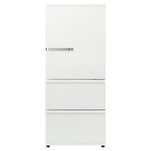 AQUA 3ドア冷蔵庫(272L・右開き) AQR-SV27HBK-W アンティークホワイト (標準設置無料)