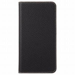 トーン iPhoneXS German Shrunken Calf CP-AP-IPXS-5640 Black×Light Gray