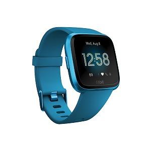 Fitbit フィットネススマートウォッチ Versa L/Sサイズ FB415BUBU-FRCJK マリーナブルー