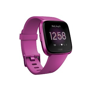 Fitbit フィットネススマートウォッチ Versa L/Sサイズ FB415PMPM-FRCJK マルベリー