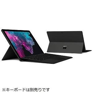 マイクロソフト Windowsタブレット Surface Pro 6(サーフェスプロ6) KJV-00028 ブラック [12.3型 /intel Core i7 /SSD:512GB /メモリ:16GB /2019年1月モデル]