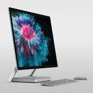 マイクロソフト デスクトップパソコン Surface Studio 2(サーフェススタジオ2) LAH-00023 プラチナ [28型 /SSD:1TB /メモリ:16GB /2019年1月]