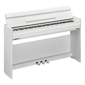 YAMAHA 電子ピアノ ARIUS YDP-S54WH ホワイトウッド調仕上げ [88鍵盤] (標準設置無料)