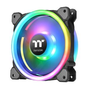 THERMALTAKE CPUクーラー Riing Trio PLUS 14 RGB Radiator Fan TT Premium Edition -3Pack-