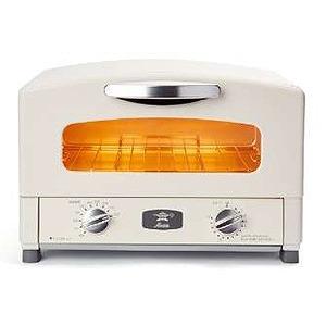 アラジン オーブントースター [1250W/食パン2枚] AET-GS13B/W