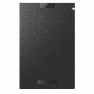 バッファロー 外付けSSD ブラック [ポータブル型 /960GB] SSD-PG960U3-BA