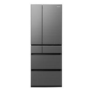 パナソニック 6ドア冷蔵庫(600L・フレンチドア) ◎NR-F605WPX-H ミスティスチールグレー(標準設置無料)