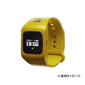 シャープ ウェアラブル端末(ウォッチタイプ)タイガース黄モデル 「funband(ファンバンド)」 SA-BY020 黄