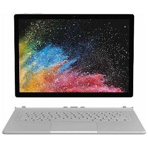 マイクロソフト Windowsタブレット ノートパソコン Surface Book 2 PGU-00022 シルバー [13.5型 /intel Core i5 /SSD:256GB /メモリ:8GB /2019年3月モデル]