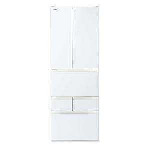 東芝 6ドア冷蔵庫 GR-R510FH(EW) グランホワイト(標準設置無料)