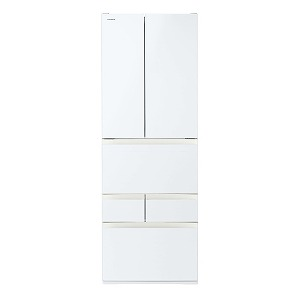 東芝 6ドア冷蔵庫 GR-R460FH(EW) グランホワイト(標準設置無料)