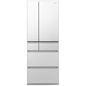 パナソニック 6ドア冷蔵庫(550L・フレンチドア) NR-F555WPX-W フロスティロイヤルホワイト (標準設置無料)