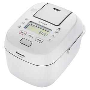 パナソニック Panasonic 炊飯器 「Wおどり炊き」[5.5合/圧力IH] SR-PW109-W(ホワイト)
