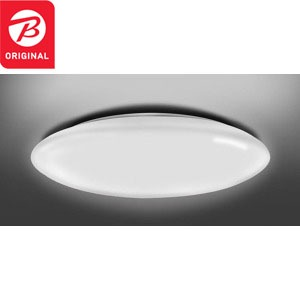 東芝 LEDシーリングライト [6畳/リモコン付き] NLEH06BK1A-DLD