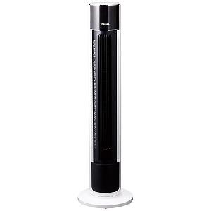 東芝 タワー型扇風機 [リモコン付き] F-ATX70-W ホワイト