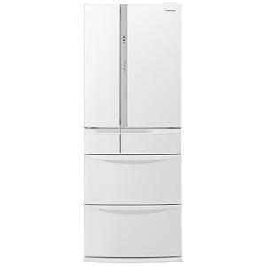 パナソニック 6ドア冷蔵庫(451L・フレンチドア) NR-FV45S5-W ハーモニーホワイト(標準設置無料)