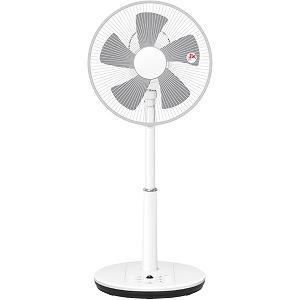 山善 リビング扇風機 リモコン付き [DCモーター搭載/5枚羽根] YLRXBKD303