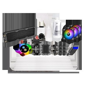 Pacific C360 Hard Tube Water Cooling Kit CL-W243-CU12SW-A