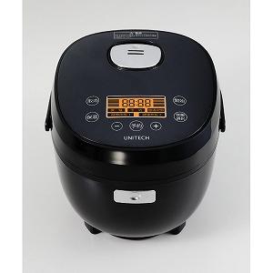 ユニテク 3.5合炊き 糖質カット炊飯器 (糖質カット時1.5合炊き) RB-65B