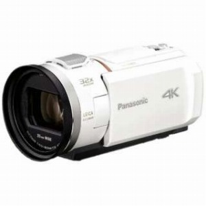 パナソニック デジタルビデオカメラ [4K対応] HC-VX2M-W ピュアホワイト