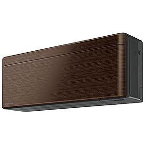 ダイキン エアコン risora(リソラ) Sシリーズ 2.2kW おもに6畳用 AN22WSS-M ウォルナットブラウン(標準取付工事費込)