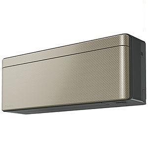 ダイキン エアコン risora(リソラ) Sシリーズ 2.5kW おもに8畳用 AN25WSS-N ツイルゴールド(標準取付工事費込)