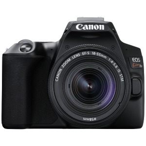 Canon デジタル一眼レフカメラ EOS Kiss X10 ブラック 【EF-S18-55 IS STM レンズキット】