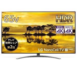 LGエレクトロニクス 65V型4K対応液晶テレビ(4Kチューナー内蔵) 65SM9000PJB(標準設置無料)