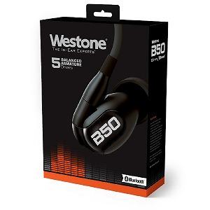 Westone ブルートゥースイヤホン カナル型 Westone Bシリーズ B50/R [リモコン対応 /ワイヤレス(左右コード) /防滴 /Bluetooth]