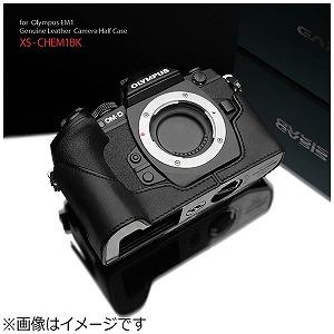 GARIZ 本革カメラケース 「オリンパス OM-D E-M1用」(ブラック) XS-CHEM1BK