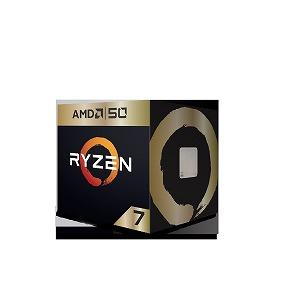 AMD AMD Ryzen 7 2700X YD270XBGAFA50 50th Anniversary Edition with Wraith Prism cooler