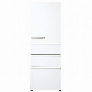 AQUA 4ドア冷蔵庫(355L・右開き) AQR-36H(W)ナチュラルホワイト (標準設置無料)