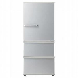 AQUA 3ドア冷蔵庫 (272L) AQR-27H(S)ミスティシルバー(標準設置無料)