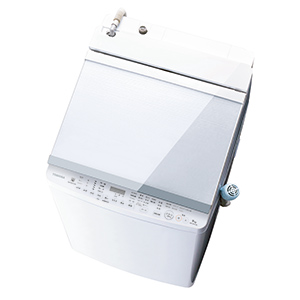 東芝 縦型洗濯乾燥機 「ZABOON/ザブーン」 [洗濯9.0kg/乾燥5.0kg/ヒーター乾燥(排気タイプ)] AW-9SV8-W グランホワイト(標準設置無料)