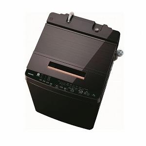 東芝 全自動洗濯機 ZABOON(ザブーン)(洗濯10.0kg /上開き) AW-BK10SD8-T グレインブラウン(標準設置無料)