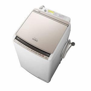 日立 縦型洗濯乾燥機 「ビートウォッシュ」 [洗濯10.0kg/乾燥5.5kg/ヒーター乾燥(水冷・除湿タイプ)] BW-DV100E-N シャンパン(標準設置無料)