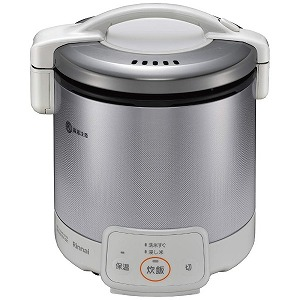 当店は最高な サービスを提供します リンナイ Rinnai プロパンガス用 ガス炊飯器 メーカー在庫限り品 グレイッシュホワイト RR-050VQ W 1~5合