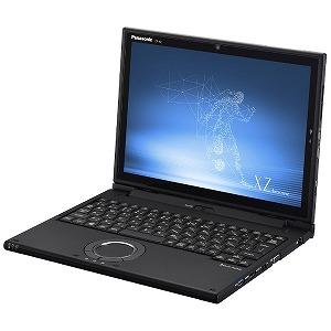 パナソニック ノートパソコン Let's note(レッツノート)XZ6シリーズ【LTE対応モデル】 CF-XZ6KFKQR ブラック [12.0型/intel Core i5/SSD:256GB/メモリ:8GB/2019年夏モデル]