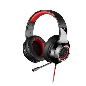 EDIFIER ゲーミングヘッドセット EDR-V4RD レッド [USB /両耳 /ヘッドバンドタイプ]