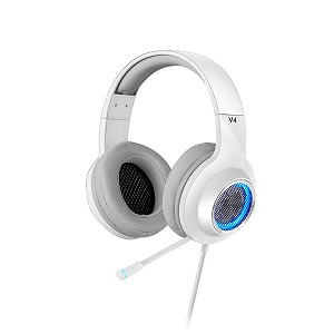 EDIFIER ゲーミングヘッドセット EDR-V4WH ホワイト [USB /両耳 /ヘッドバンドタイプ]