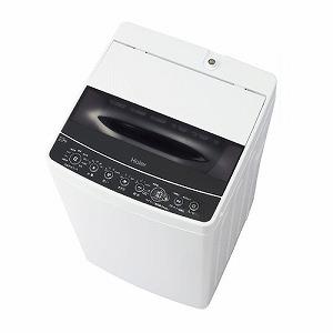ハイアール 全自動洗濯機 [洗濯5.5kg] JW-C55D-K ブラック(標準設置無料)