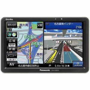 パナソニック 7型SSDポータブルカーナビゲーション Gorilla 16GBメモリー CN-G1300VD