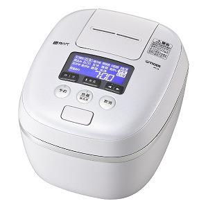 タイガー 圧力IH炊飯ジャー 「炊きたて」(5.5合) JPC-G100WA エアリーホワイト