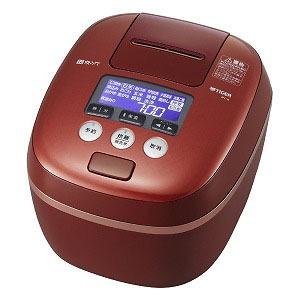 タイガー TIGER 炊飯器 「炊きたて」[5.5合/圧力IH] JPC-G100RC レッドクレイ