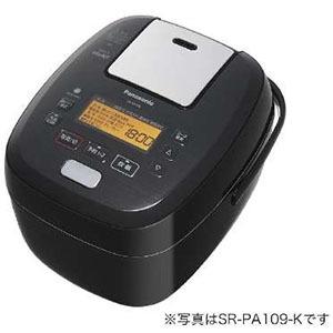 パナソニック Panasonic 炊飯器 「可変圧力おどり炊き」[1升/圧力IH] SR-PA189-K ブラック