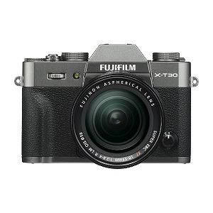 富士フイルム ミラーレス一眼カメラ FUJIFILM X-T30【XF18-55レンズキット】(チャコールシルバー)