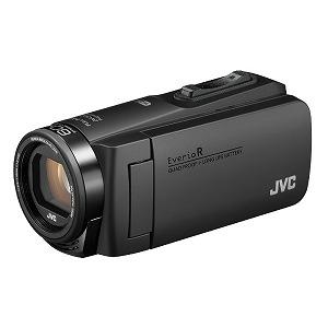 JVC・ビクター SD対応 64GBメモリー内蔵 防水・防塵・耐衝撃フルハイビジョンビデオカメラ GZ-RX690-B ブラック