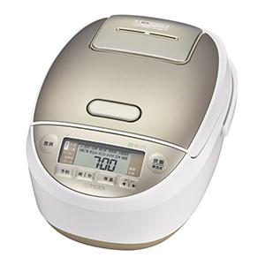 タイガー TIGER 炊飯器 「炊きたて」[5.5合/圧力IH] JPK-A100W ホワイト