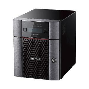 バッファロー TeraStation WS IoT 2019 for SWエディション搭載 4ベイデスクトップ 24TB WS5420DN24W9